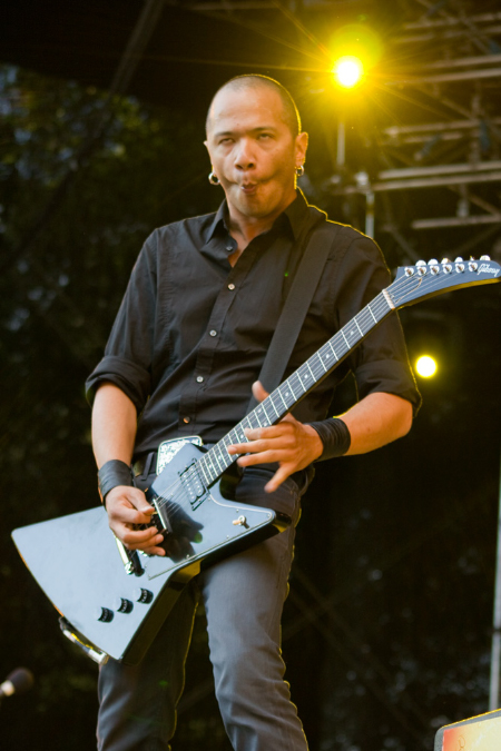 Danko Jones på Peace & Love 2010