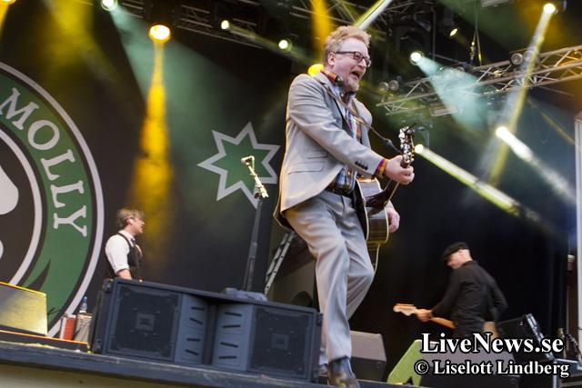 Flogging Molly på Gröna Lund 2014_01