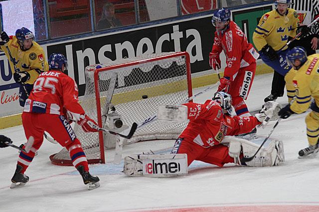 Sverige - Tjeckien, LG Hockey Games 2011, 4-1 målet