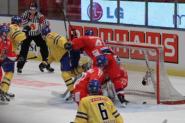 Sverige - Tjeckien, LG Hockey Games 2011, 6-1 målet
